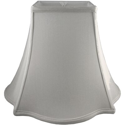 12 Faux Silk Novelty Lamp Shade Color: Pebble