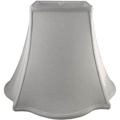 12 Faux Silk Novelty Lamp Shade Color: Pebble
