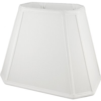 18 Faux Silk Empire Lamp Shade Color: White