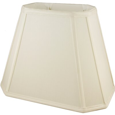 18 Faux Silk Empire Lamp Shade Color: Ivory