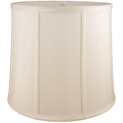 13 Faux Silk Drum Lamp Shade Color: Natural
