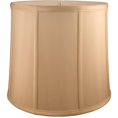 13 Faux Silk Drum Lamp Shade Color: Honey