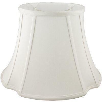 9 Faux Silk Bell Lamp Shade Color: Cream
