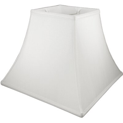 17 Faux Silk Bell Lamp Shade Color: Pebble