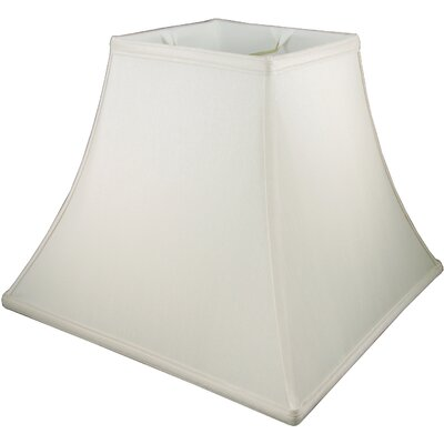 16 Faux Silk Bell Lamp Shade Color: Natural
