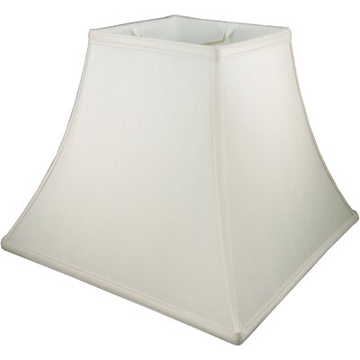 12 Faux Silk Bell Lamp Shade Color: Cream