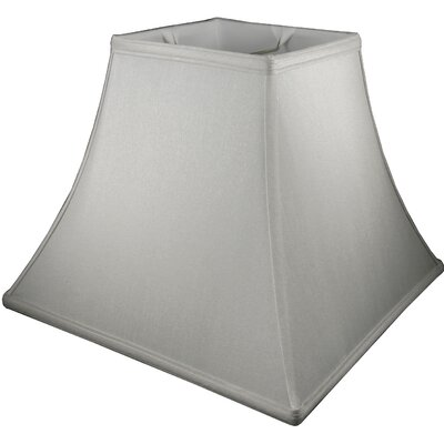12 Faux Silk Bell Lamp Shade Color: Pebble