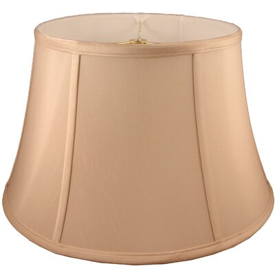 15 Faux Silk Bell Lamp Shade Color: Honey