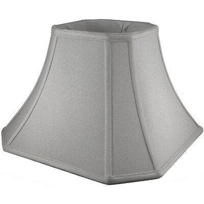 11 Faux Silk Bell Lamp Shade Color: Pebble