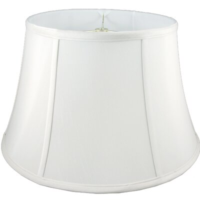 16 Faux Silk Bell Lamp Shade Color: White