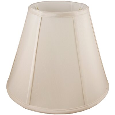 24 Faux Silk Empire Lamp Shade Color: Natural