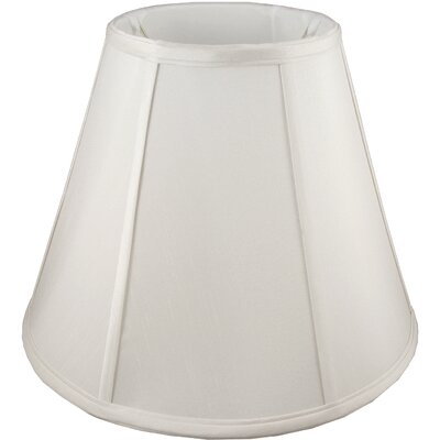 24 Faux Silk Empire Lamp Shade Color: Cream