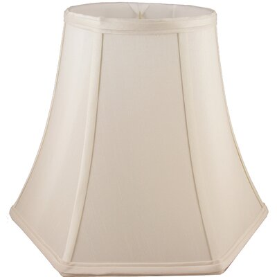 12 Faux Silk Bell Lamp Shade Color: Natural