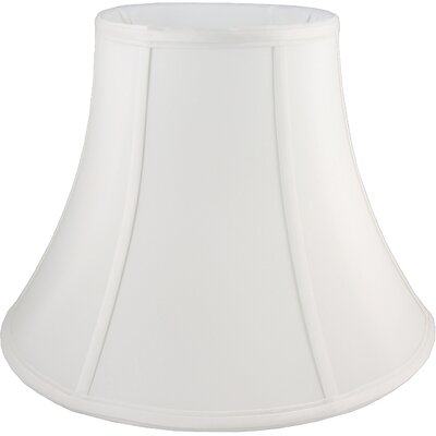 22 Faux Silk Bell Lamp Shade Color: White