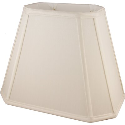 14 Faux Silk Empire Lamp Shade Color: Natural