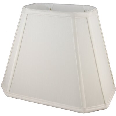 14 Faux Silk Empire Lamp Shade Color: Pebble