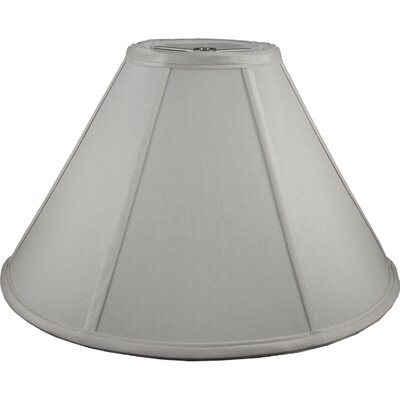 16 Faux Silk Empire Lamp Shade Color: Pebble