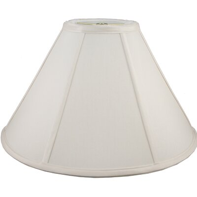 19 Faux Silk Empire Lamp Shade Color: Cream