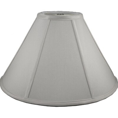 19 Faux Silk Empire Lamp Shade Color: Pebble