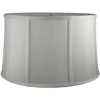 18 Faux Silk Drum Lamp Shade Color: Pebble