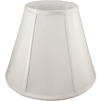 17 Faux Silk Empire Lamp Shade Color: Cream