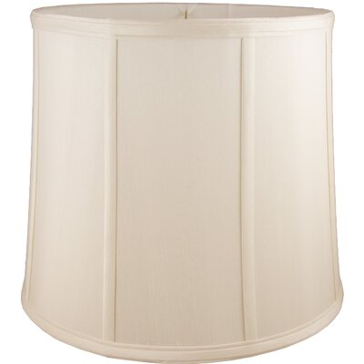 15 Faux Silk Drum Lamp Shade Color: Natural