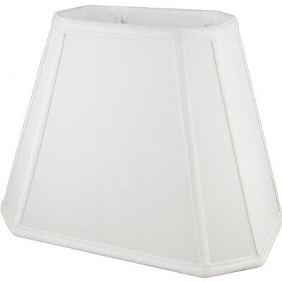 16 Faux Silk Empire Lamp Shade Color: White