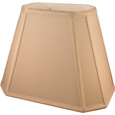 16 Faux Silk Empire Lamp Shade Color: Honey
