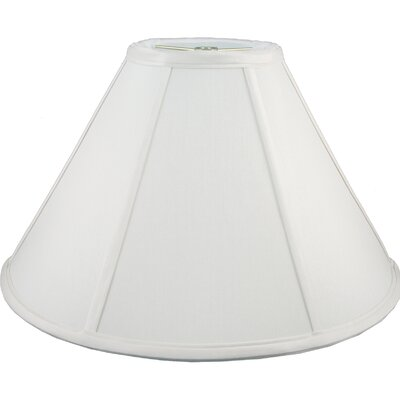 20 Faux Silk Empire Lamp Shade Color: White