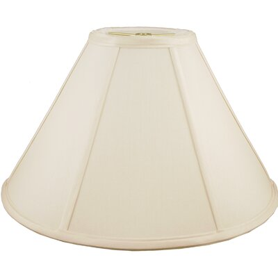 20 Faux Silk Empire Lamp Shade Color: Ivory