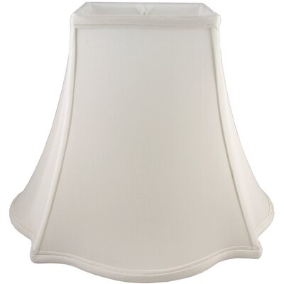 14 Faux Silk Bell Lamp Shade Color: Cream