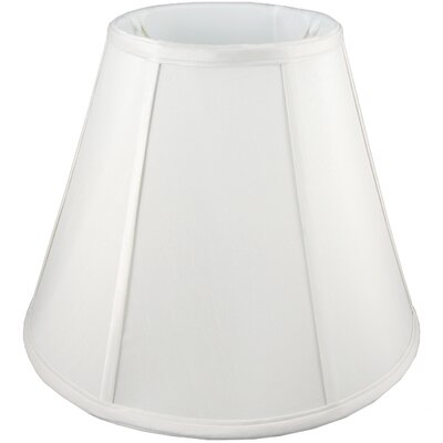 11 Faux Silk Empire Lamp Shade Color: White