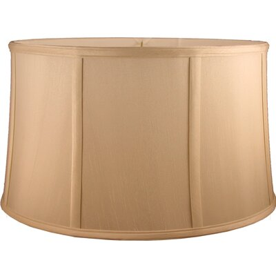 16 Faux Silk Drum Lamp Shade Color: Honey
