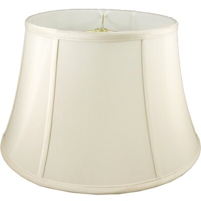 19 Faux Silk Bell Lamp Shade Color: Ivory