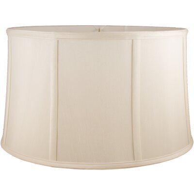 20 Faux Silk Drum Lamp Shade Color: Natural