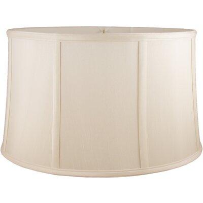 20 Faux Silk Drum Lamp Shade Color: Natural