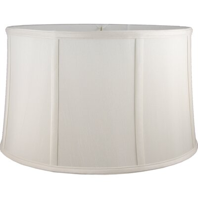 20 Faux Silk Drum Lamp Shade Color: Cream