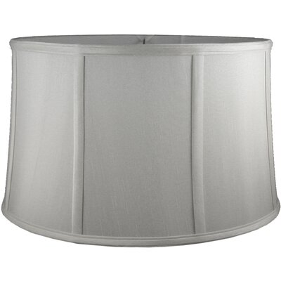 20 Faux Silk Drum Lamp Shade Color: Pebble