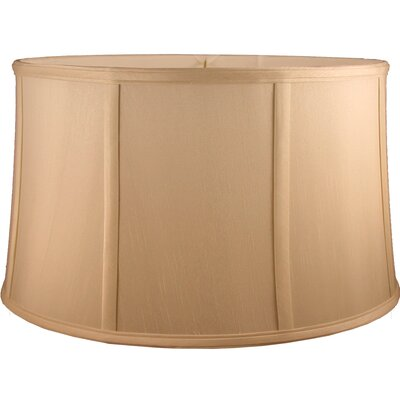 20 Faux Silk Drum Lamp Shade Color: Honey