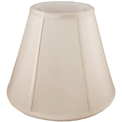 8 Faux Silk Empire Candelabra Shade Color: Natural