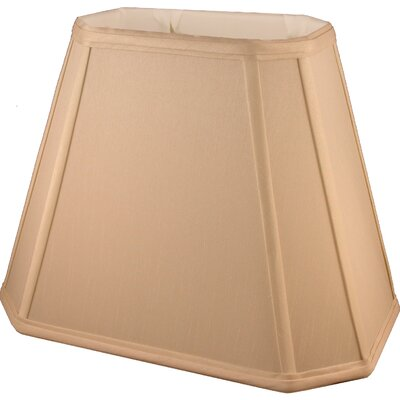 10 Faux Silk Empire Lamp Shade Color: Honey