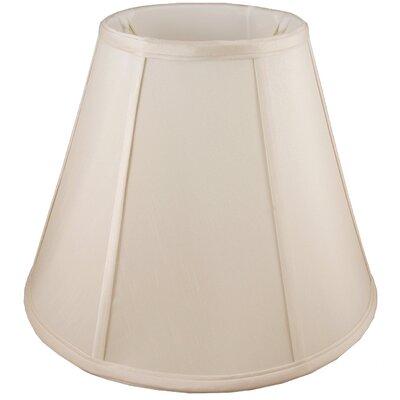 18 Faux Silk Empire Lamp Shade Color: Natural