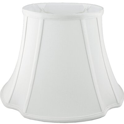 15 Faux Silk Bell Lamp Shade Color: White