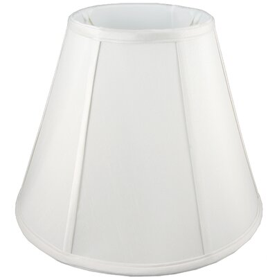 16 Faux Silk Empire Lamp Shade Color: White