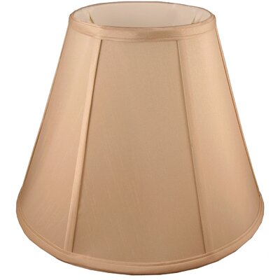 16 Faux Silk Empire Lamp Shade Color: Honey