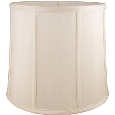 14 Faux Silk Drum Lamp Shade Color: Natural