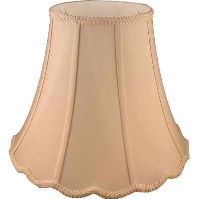9 Faux Silk Bell Lamp Shade Color: Honey