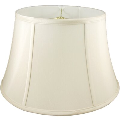 24 Faux Silk Bell Lamp Shade Color: Ivory