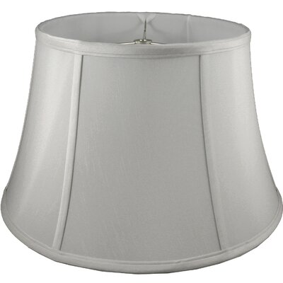 24 Faux Silk Bell Lamp Shade Color: Pebble