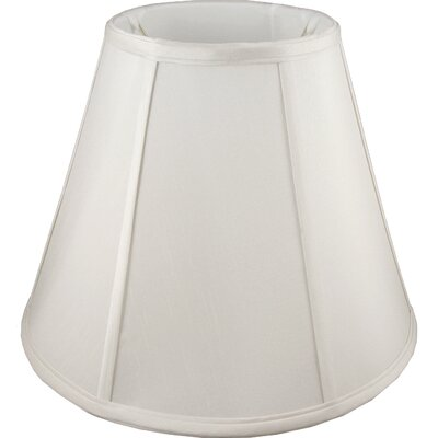 8 Faux Silk Empire Lamp Shade Color: Cream